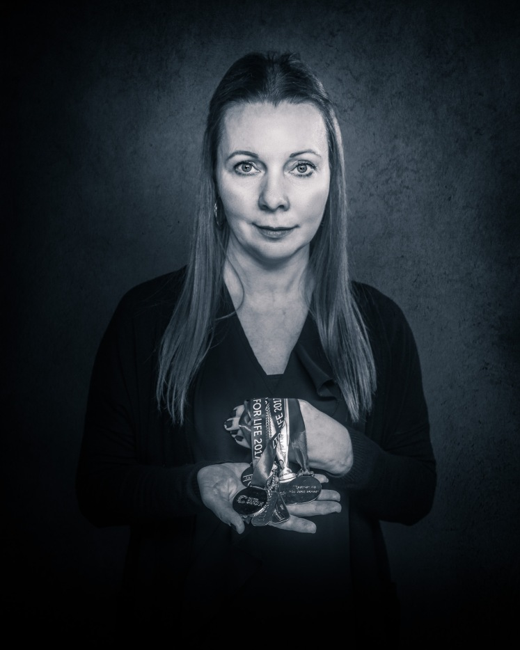 Kelly Smith, portrait subject for the Open Shutters mental health project by photographer Lisa Marie Gee